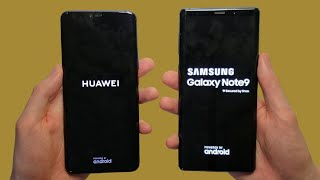 Huawei Mate 20 Pro vs Galaxy Note 9 Speed Test, Speakers & Cameras!