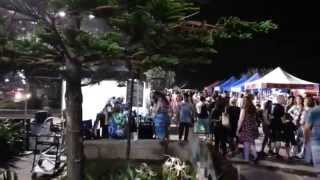 Surfers Paradise Night time - Beachfront Markets HD 02