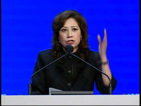 Secretary of Labor Hilda Solis Speaks to the Delegates