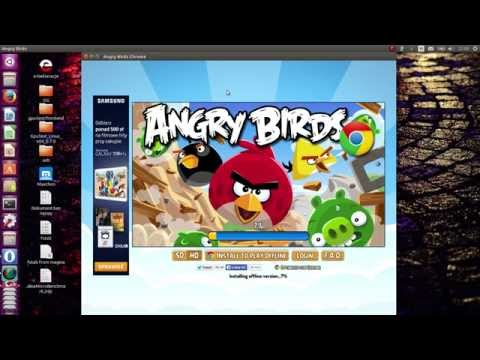 [How to] Install Angry Birds on Linux Ubuntu / Jak zainstalować Angry Birds na Linuksie Ubuntu