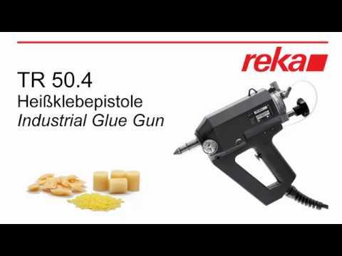 Настоящий профессиональный клеевой пистолет TR50 4