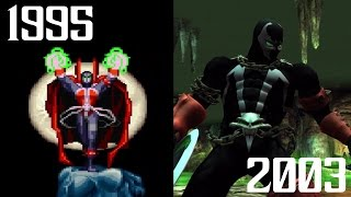 Evolution of Spawn in Games (1995-2003)