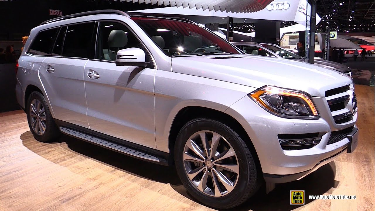 2015 Mercedes Benz Gl Class Gl450 4matic Exterior Interior Walkaround 2015 Detroit Auto
