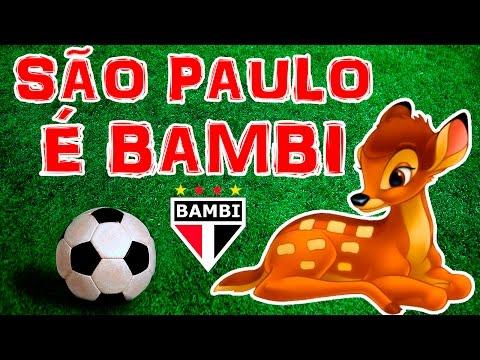 São Paulo é time de BAMBI