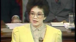 http://rtvm.gov.ph - President Corazon Aquino before the US Congress