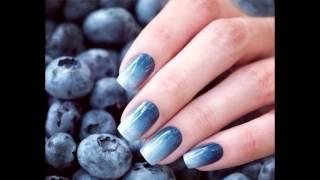 Градиент на ногтях ( подборка фото )