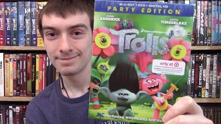 Trolls Target Exclusive Blu-Ray Unboxing