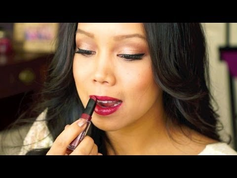 NEW Revlon Colorstay Ultimate Suede Lipstick First Impression Review - itsjudytime