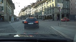 Driving in and around Bern's old town in Switzerland in 4K 1/2