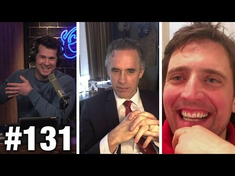 #131 LEGAL VS. ILLEGAL! Dr. Jordan Peterson and Owen Benjami