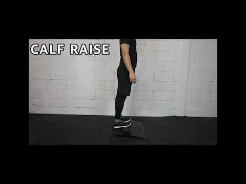 Gym, Fitness Equipment Exercise Calf Raise Squat Block