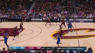 Kevin Love's Christas Day defense vs  the Warriors