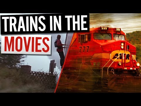 Trains in the Movies - DSB S 740 - Amtrak - Intercity 125 - Astrotrain - Silver Streak - Lumière