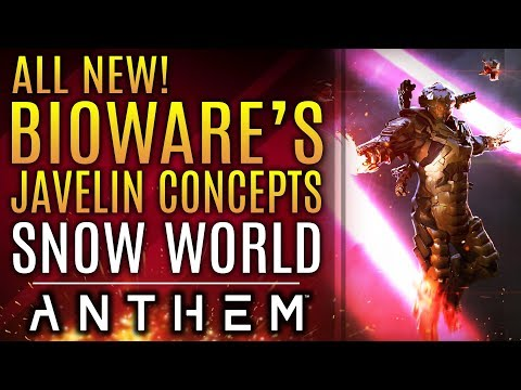 Anthem - New Official Concepts Show Off Javelin Variants, Snow World and More!
