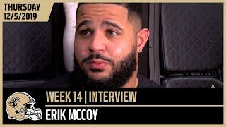 Erik McCoy on Bosa, 49ers DLine Ahead of Week 14   New Orleans Saints Football