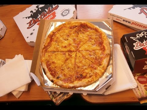 Pizza Eating Contest in Helax Radio | Ostrava, Czech Republic