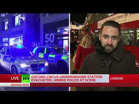 Oxford Circus false alarm: 'No trace of suspects, evidence of shots fired or casualties' – police