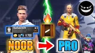 Free Fire new account to *PRO* - look how it became😱🔥 Mr Rainbow