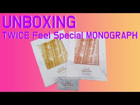 [UNBOXING] TWICE Feel Special MONOGRAPH 트와이스 필스페셜 모노그래프 언박싱 by 사나오효오효