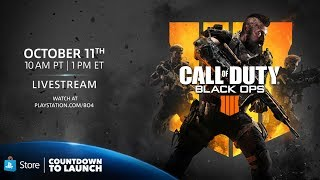 Call of Duty: Black Ops 4 | Countdown to Launch Livestream