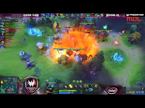 BOOM.ID (Indonesia) vs GEEKFAM (Malaysia) APAC Acer Predator Day3, Casted by: XYCLOPS