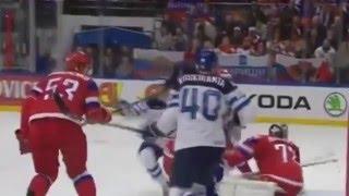 Хоккей.ЧМ-2016 Россия - Финляндия 1:3 Обзор  Hokkey.ChM 2016 Venäjä - Suomi 1: 3 arvostelu.