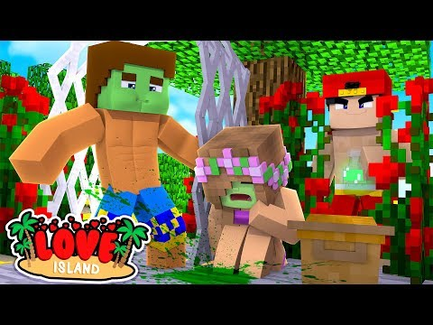 LITTLE KELLY & DONNY'S LOVE DATE IS RUINED BY EVIL ROPO    Minecraft LOVE ISLAND