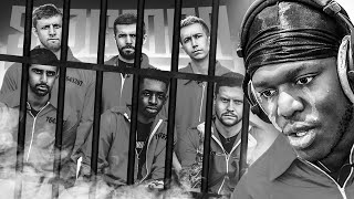 The Sidemen are in prison...