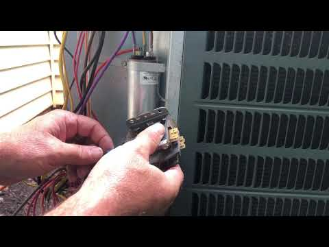 Contact Relay Replaced On Goodman AC Unit