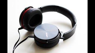 наушники Sony MDR-XB950AP-лучшие за свои деньги