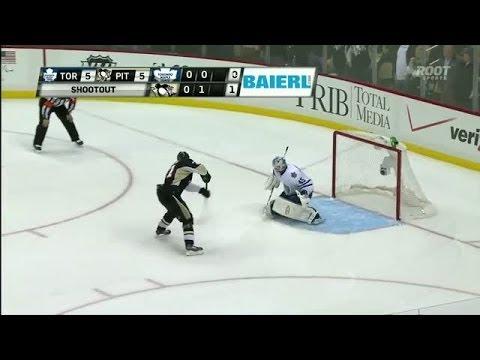 Shootout: Penguins vs Maple Leafs