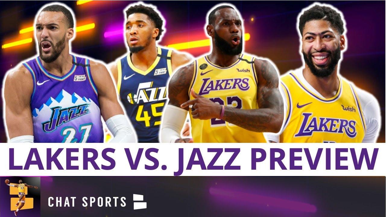Los Angeles Lakers vs. Utah Jazz Preview, Prediction, TV Network & Odds | Lakers News & Rumors
