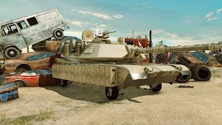 Car Mechanic Simulator 2018 - НАШЁЛ ТАНК НА СВАЛКЕ! M1 ABRAMS