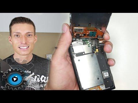 Nokia Lumia 800 Glas Display Wechseln Tauschen Reparatur [Deutsch]