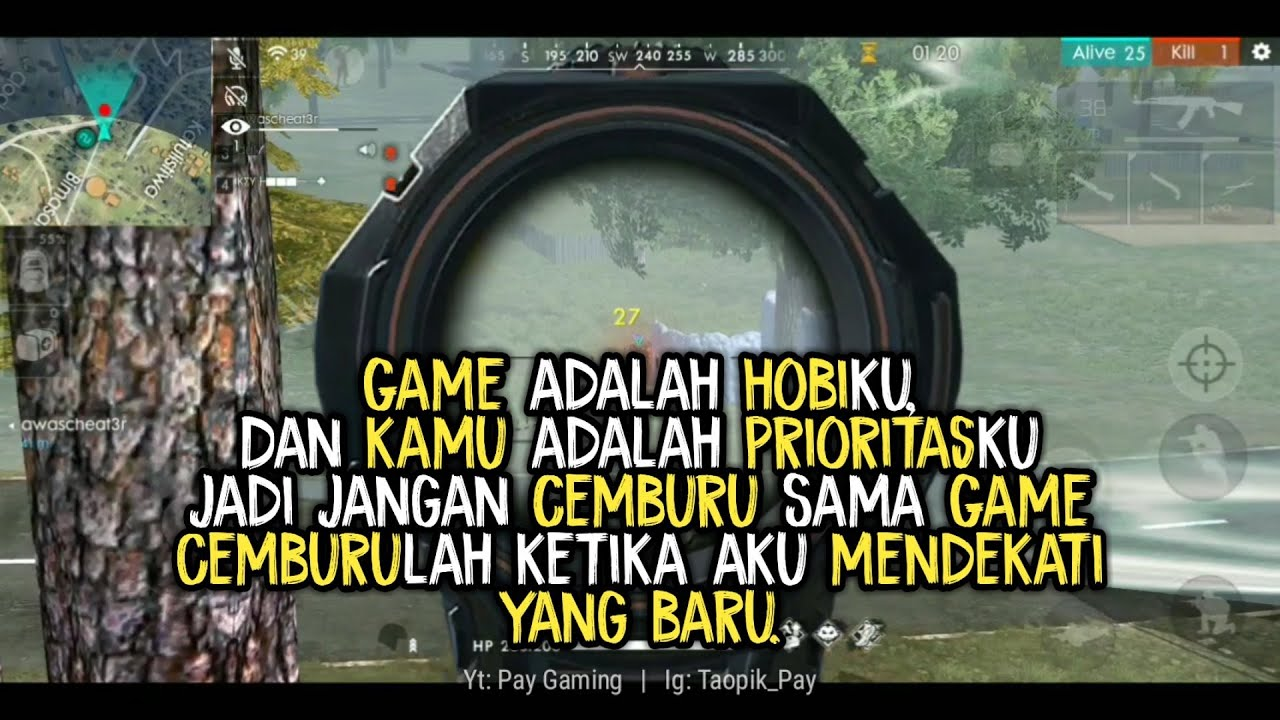 quotes kata kata anak gamers ff