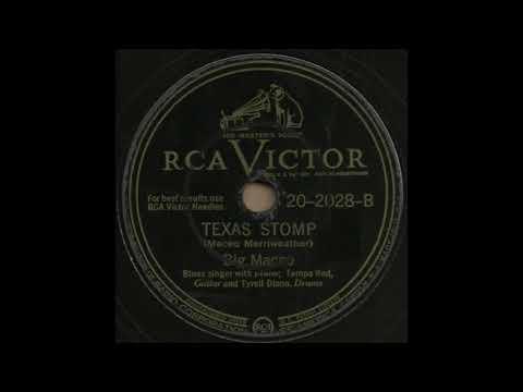 TEXAS STOMP / Big Maceo [RCA VICTOR 20-2028-B]