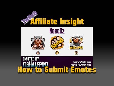 How To Submit Emotes To Twitch (Affiliate Insight)