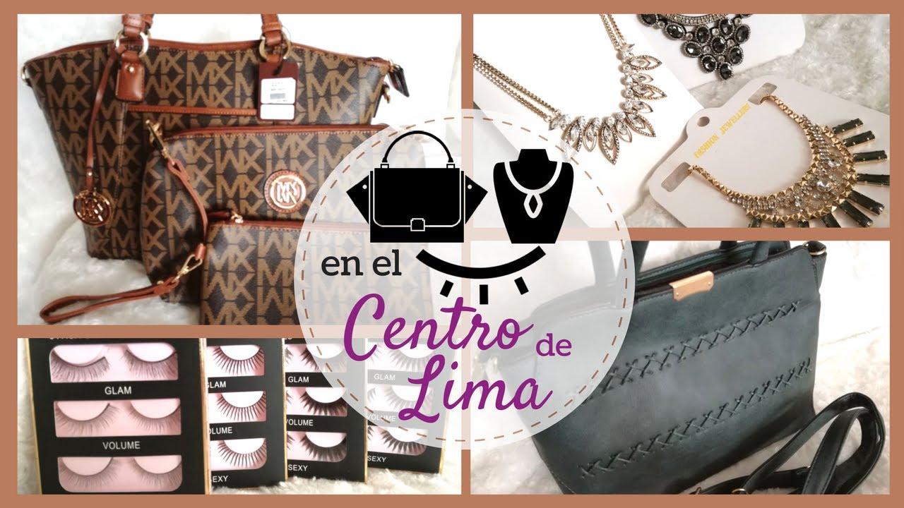 7ea8b74da Centro de Lima: Carteras, Accesorios y Pestañas | Tiendas Favoritas + Haul  | MyFioriStyle