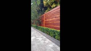 Unique Privacy Fence Ideas For Beautiful Home, Best Shielded Backyard Designs For Beautiful Home #7