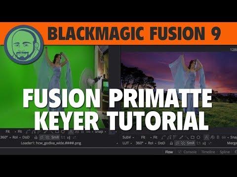 Blackmagic Fusion Primatte Keyer Tutorial
