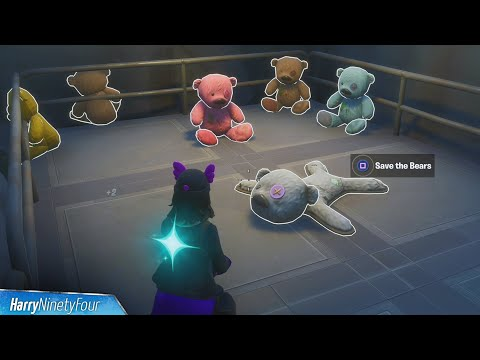 Teddies Liberated Secret Challenge Guide (Save The Bears Location) - Fortnite