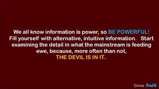 Deprogramming yourself from the reptilian illuminati fake (reality) matrix