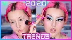 JE TESTE LES TENDANCES MAKEUP DE 2020 😅 | 2020 MAKEUP TRENDS