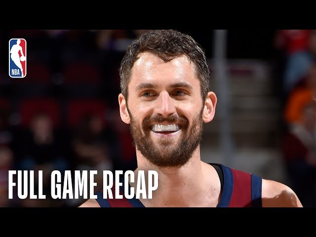 MAGIC vs CAVALIERS | Kevin Love Battles With Nikola Vucevic In Cleveland | March 3, 2019
