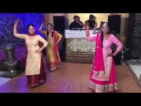 Bhangra on Miss Pooja's track Aashiq . Punjabi Dance.