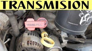 Como comprobar nivel de aceite transmission automatica y manual