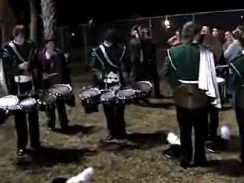 Venice Senior High School Drumline Nov 5,2004 shortened version.wmv