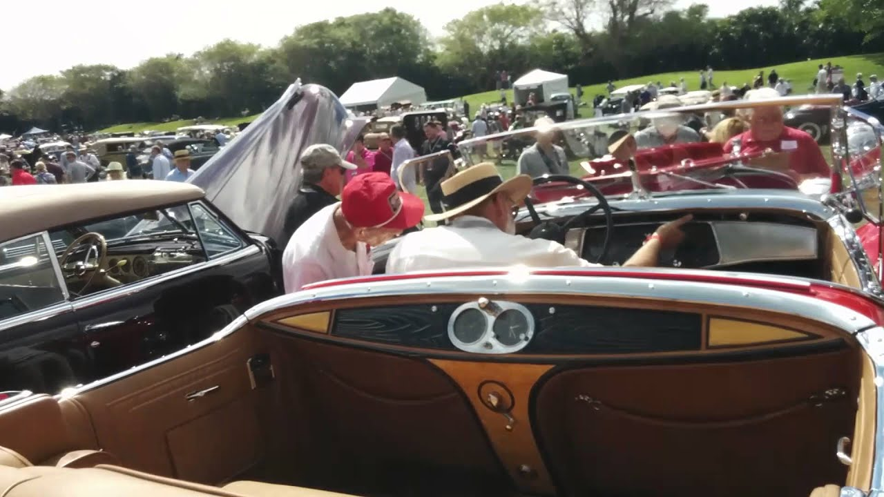 1931 Cadillac V16 Imperial Limousine Idle And Slow Rev
