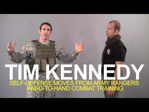 Strikeforce's Tim Kennedy Shows You Self-Defense Moves From His Army Rangers Training