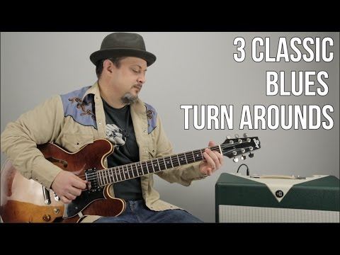 3 Blues Turnarounds For Guitar - Blues Guitar Lessons